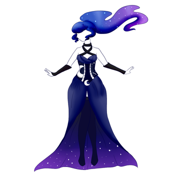 Princess Luna Dress Design by CitrusSkittles