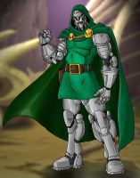 Doctor Doom by Mawnbak