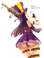 [LOL] Caitlyn by kuropeach