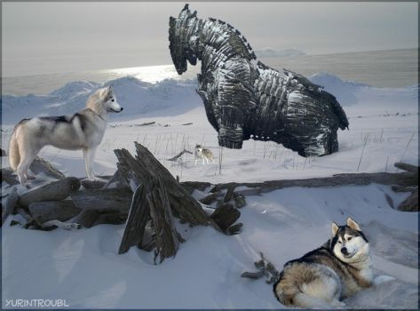 Trojan Horse -The Husky Effect by yurintroubl