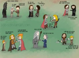 Game of Thrones/Merlin/Lord of the Ring by Boo-s