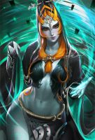 Midna .nsfw optional. by sakimichan