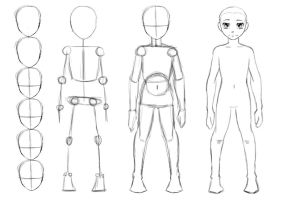 How To Draw A Body by THEAltimate