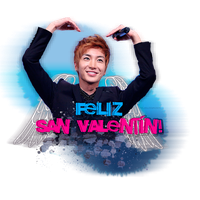 Happy Valentine's Day From Leeteuk by NileyJoyrus14