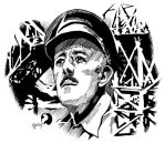 Sir Alec Guinness and The Bridge on the River Kwai by ZacharyFeore