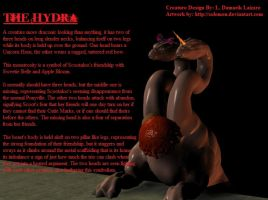 Darkness Scoots: The Hydra by Laegreffon