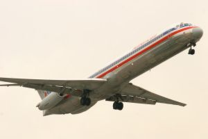 LAX 09 AA MD-80 by Atmosphotography