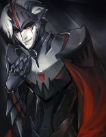 Lord Starscream by fayrenpickpocket