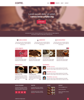 COFFE Web Template by multicreative