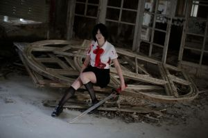 Blood+ cosplay: Saya by Yukichan1994