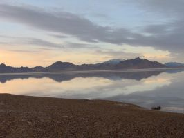 The Salt Flats in Utah by onefryshort