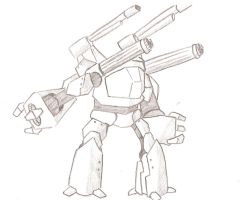 Sketch 3: mech by amauric