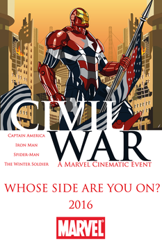 CIVIL WAR (Whose Side Are You On?) by RobertoJOEL1307