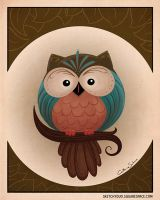 Owl by CatherineSatrun