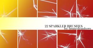Sparkler Brushes by bruised-rainbows