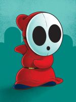 Shy Guy by Ian-Summers