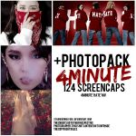 +4MINUTE 'HATE' SCREENCAPS {PHOTOPACK} by StrangerWolfGirl