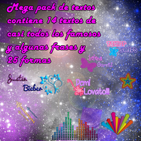 pack de textos by ludmyyy
