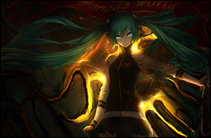 Glorious World (Miku Smudge) Tag by TheIzaya