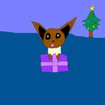 An Eevee for Xmas by imthecutest1238