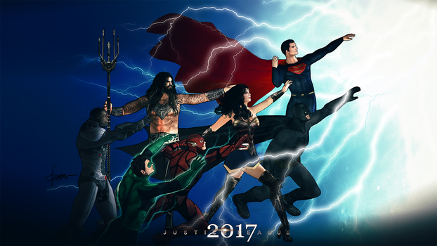 DCEU tribute to DC rebirth by freakyzzang
