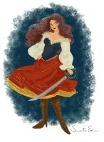 Anne Bonny Commission by samycat