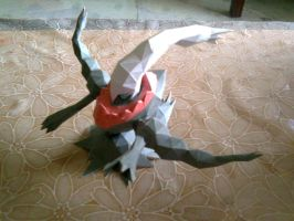 Darkrai Papercraft by ShiroKoori