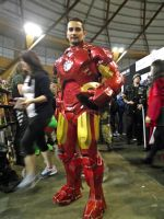 Iron Man Cosplay at 2014 Sydney Supernova by rbompro1