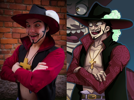 Hapsu Cosplay - Cross eyes Mihawk by Tompsontiger