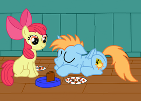 Apple Bloom In Charge Digital Remake by SpriteFizz