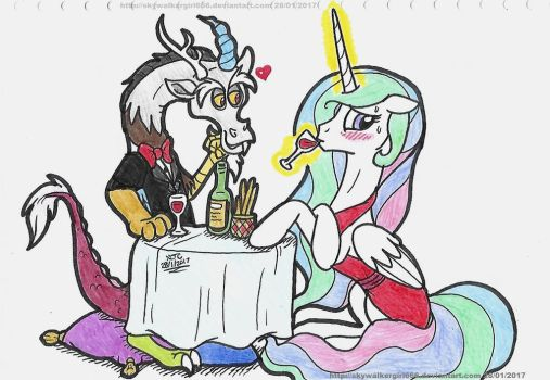 Dinner date With Chaos by SkywalkerGirl666