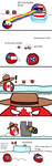 Polandball - Moving to Canada by BrenZan