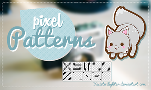 Pixel Patterns by yssietwilighter