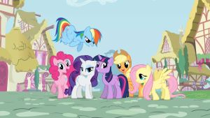 MLP Friendship Is Magic Google Chrome Theme V2 by GoogleChromeThemes