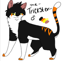 The Trickster ref by WarDrivenGlitch23