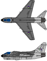 A-7 Corsair 2 by gryphonarts