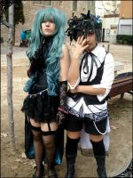Hatsune nd Phantomhive by DeerAzeen