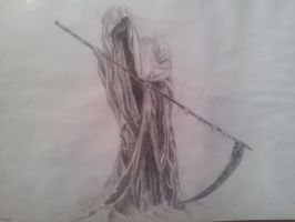 Grim Reaper DRAWING by CassandraWilson