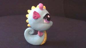 MLPS sea horse by ColleensCritters