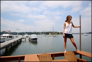 Marie - above the jetty 1 by wildplaces