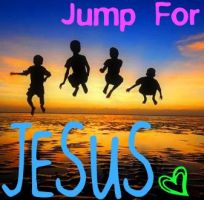 Jump For Jesus by PicnikArt