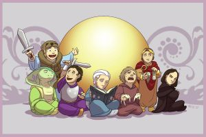 Seven Little Gods by NuisanceBearEull