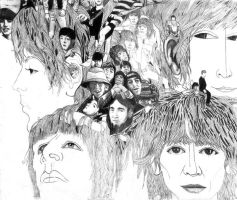 Beatles Revolver album by choffman36