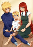 Naruto: We love you Son by xSilverDragoonx