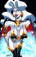 Lady Death All-Stars Pin-Up by Axebone