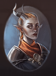 Inquisitor Adaar by jazzmire
