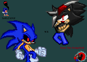 X:Cover Promo= Verto TH V.S SoNiC.EXE:X by SuperSonic124TH