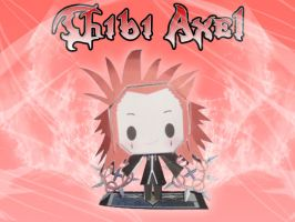 Chibi Axel Papercraft Pic by toki28