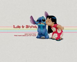 Lilo and Stitch Wallpaper by KiLLeRBuNnY69