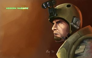 MW2 Wallpaper: Dunn by CreativeImages